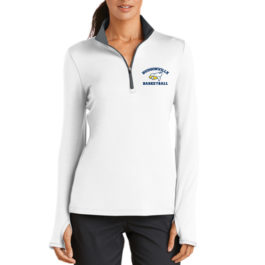 Nike Ladies Dri-FIT Stretch 1/2-Zip Cover-Up