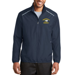 Port Authority® Zephyr Reflective Hit Full-Zip Jacket – Navy