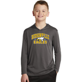 Youth PosiCharge Competitor Hooded Pullover