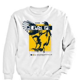 Eagles Wild White Heavy Blend Crewneck Sweatshirt