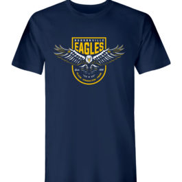 Eagles Wing Navy Heavy Blend Cotton T-Shirt