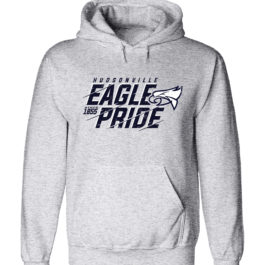 Eagle Pride Grey Heavy Blend Hooded Sweatshirt