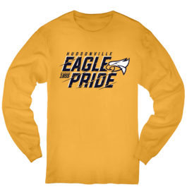 Eagle Pride Gold Heavy Blend Cotton Long Sleeve T-Shirt