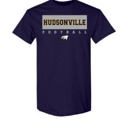 Hudsonville Football Short Sleeve Unisex T-Shirt-0001