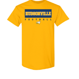 Hudsonville Football Short Sleeve Unisex T-Shirt-0002