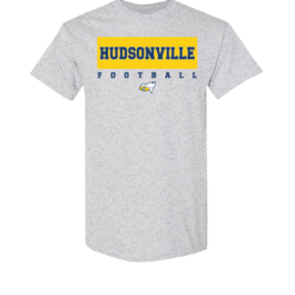 Hudsonville Football Short Sleeve Unisex T-Shirt-0003