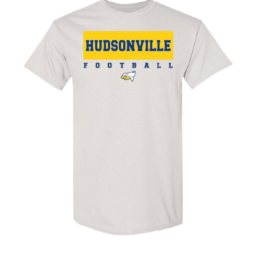 Hudsonville Football Short Sleeve Unisex T-Shirt-0004