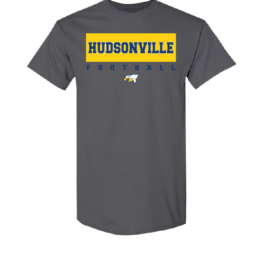Hudsonville Football Short Sleeve Unisex T-Shirt-0005