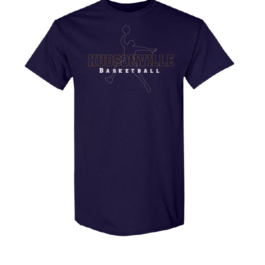 Hudsonville Basketball Short Sleeve Unisex T-Shirt-0011