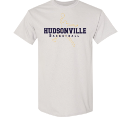Hudsonville Basketball Short Sleeve Unisex T-Shirt-0013