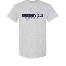 Hudsonville Basketball Short Sleeve Unisex T-Shirt-0015