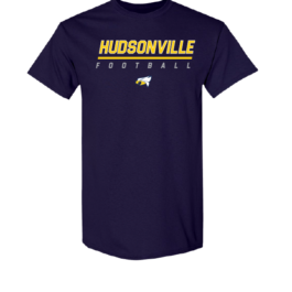 Hudsonville Football Short Sleeve Unisex T-Shirt-0016