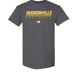 Hudsonville Football Short Sleeve Unisex T-Shirt-0017