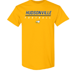 Hudsonville Football Short Sleeve Unisex T-Shirt-0020