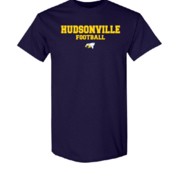 Hudsonville Football Short Sleeve Unisex T-Shirt-0023