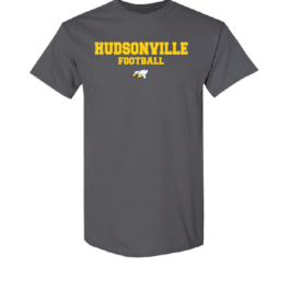 Hudsonville Football Short Sleeve Unisex T-Shirt-0024