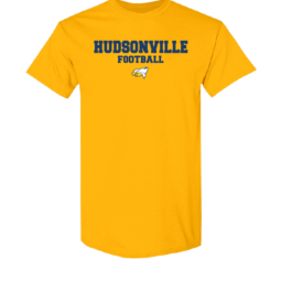Hudsonville Football Short Sleeve Unisex T-Shirt-0025