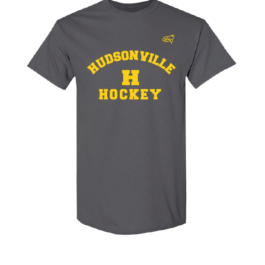 Hudsonville Hockey Short Sleeve Unisex T-Shirt-0032