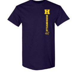 Hudsonville Eagles Short Sleeve Unisex T-Shirt-0036
