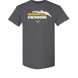 Hudsonville Swimming Short Sleeve Unisex T-Shirt-0047