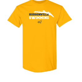 Hudsonville Swimming Short Sleeve Unisex T-Shirt-0050