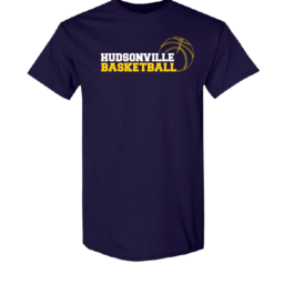 Hudsonville Basketball Short Sleeve Unisex T-Shirt-0061