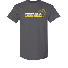 Hudsonville Basketball Short Sleeve Unisex T-Shirt-0062