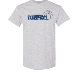 Hudsonville Basketball Short Sleeve Unisex T-Shirt-0064