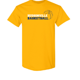 Hudsonville Basketball Short Sleeve Unisex T-Shirt-0065